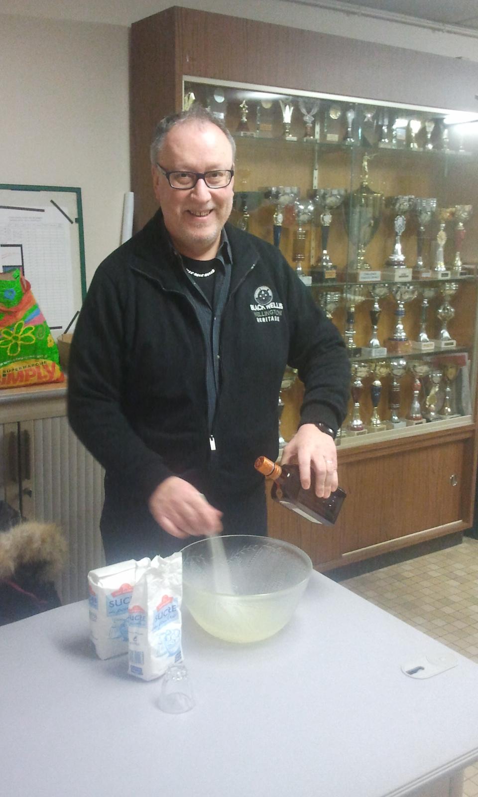 Preparation soupe